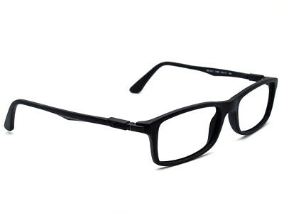 b061012efbd00 RAY BAN EYEGLASSES RB 7017 5196 Black Rectangular Frame 54  17 145 ...