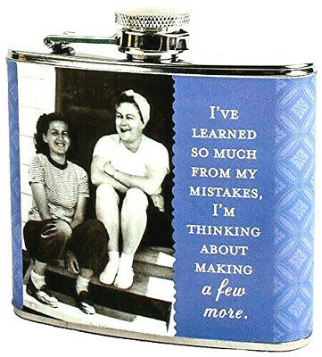 Brand New  Shannon Martin Design Flask, My Mistakes, Lavender by Shannon Martin
