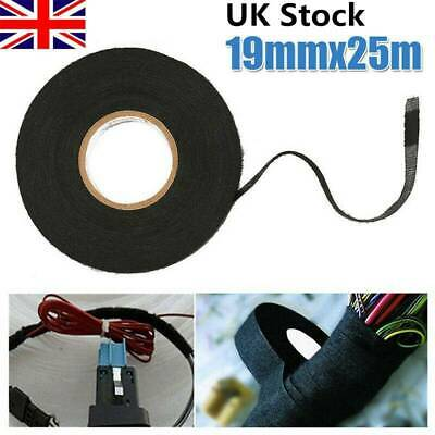 19mm*25m Tape Wiring Loom Harness Adhesive Cloth Fabric Automotive Car Cable