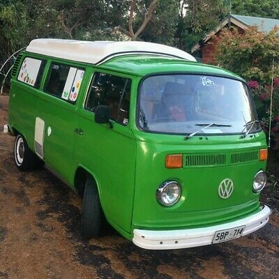 1976 VW Kombi camper with new engine, drives perfectly