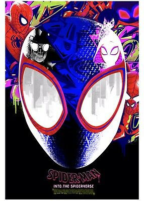 Spider-Man Into The Spider-Verse Anthony Petrie Poster LE 200 Confirmed Order