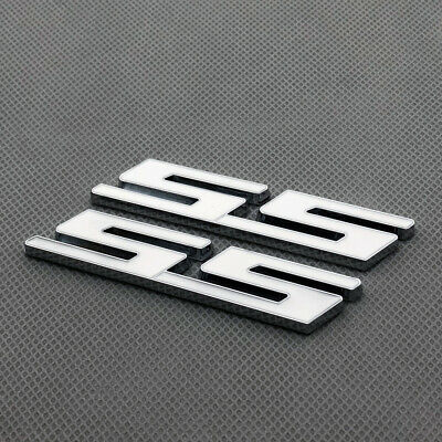 Red Coated Metal ST Rear Trunk Tailgate Chrome Emblem 3D Badge for Fiesta Mondeo