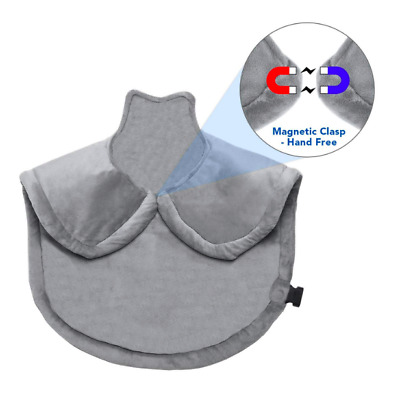 Large Heating Wrap For Back Neck And Shoulder Electric Soft Heat Pad Pain Relief