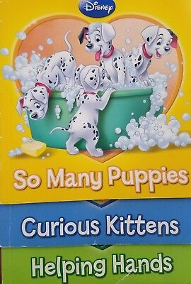 Disney~So Many Puppies, Curious Kittens, Helping Hands~ Children's Books