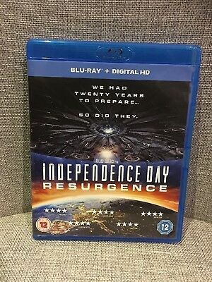 Independence Day: Resurgence Blu-ray (2016) Liam Hemsworth . New. UNsealed.