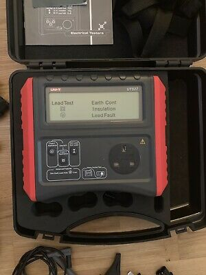 Uni-t UT527  Manual Pat Tester Calibration