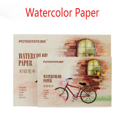 Drawing Watercolor Paper Colored Pencil Book Sketch album Painting Pad