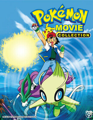 Anime DVD Pokemon The Movie Collection 21 in 1 (21 Movies) *English Subtitle*