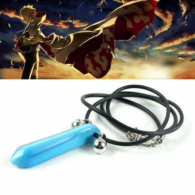 Naruto Tsunade BLUE Charms Pendant necklace blue or green or white UK