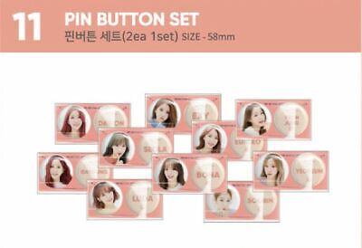 WJSN CONCERT Would you stay - Secret Box OFFICIAL GOODS PIN BUTTON SET SEALED