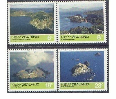 New Zealand 1974 OFFSHORE ISLANDS (4) Unhinged Mint SG 1061-4