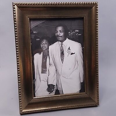 CREED - Apollo Creed & Mary Anne Framed Family Photo - Carl Weathers