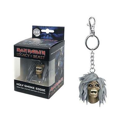 Official Licensed - Iron Maiden - Holy Smokes Keychain Keyring Legacy