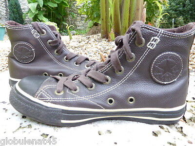 converse cuir taille 36