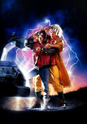 BACK TO THE FUTURE: PART II Movie PHOTO Print POSTER FIlm 1989 Robert Zemeckis 1