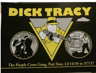 Dick Tracy #9/21/36 to 12/13/36 - The Purple Cross Gang, Part TWO (2002, Pacific