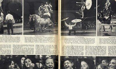 1939 PICTURE POST Photo Journalism Magazine HITLER Tyneside Letters CIRCUS (1200