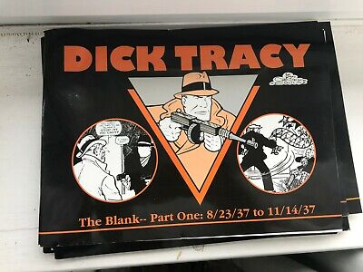 Dick Tracy 8/23/37 11/14/37 the blank part one