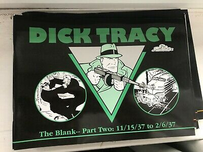 Dick Tracy 8/23/37 11/14/37 the blank part two