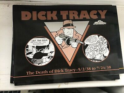 Dick Tracy  the death off dick tracy 5/2/38 to 7/24/38