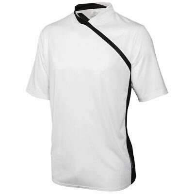 Le Chef Thermocool Prep Shirt White with Black Trim XL
