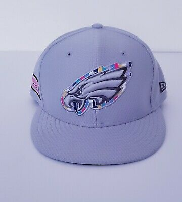 0bcb970fa97 New Era Philadelphia Eagles 59Fifty Crucial Catch Fitted Hat Intercept  Cancer