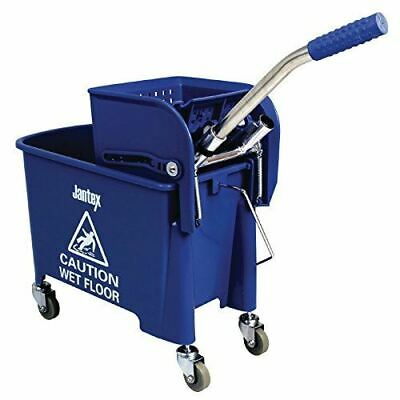 Jantex Bucket And Wringer Blue 630X670X270mm 20Ltr Cleaning With Handle