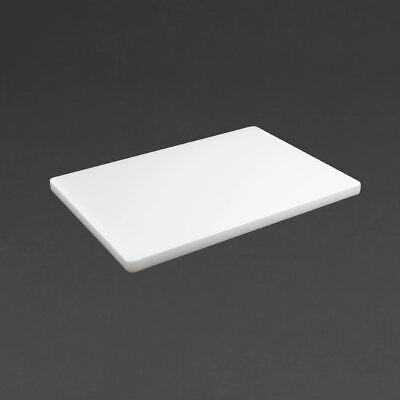 Hygiplas Thick Chopping Board in White - Polyethylene - 20 x 450 x 300 mm