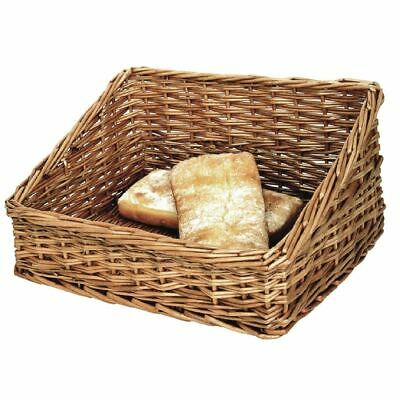 Olympia Bread Display Basket in Rustic Wooden Colour 170x360x300mm
