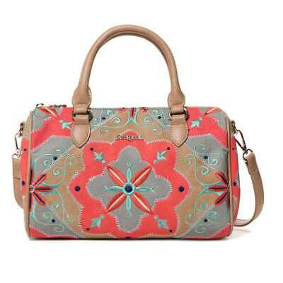c53d54722da2 Genuine DESIGUAL Bag MARY JACKSON BOWLING Female Coral - 19SAXPC5-7019-U
