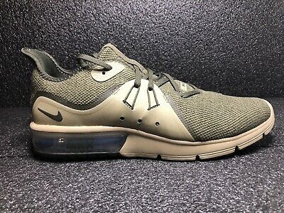 d9be7883411ad Nike Air Max Sequent 3 Mens Running Shoes Men New Olive Sneakers Size 9.5