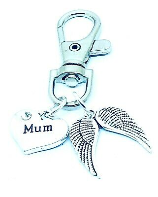 Handmade Mothers Day Gift  Keyrings Lucky bag charms keepsakes personal gifts