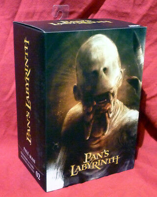 """NECA - Guillermo Del Toro Pan's Labyrinth 7"""" Scale Action Figure Pale Man"""