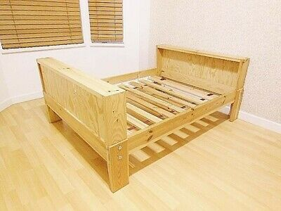 IKEA Vikare Toddler Junior Extendable Bed with Guard Rail