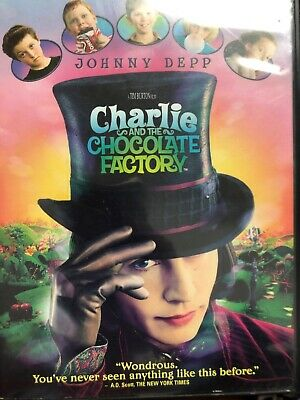 Charlie And The Chocolate Factory Starring Johnny Deep Widescreen Edition DVD