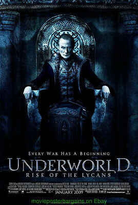 UNDERWORLD : RISE OF THE LYCANS MOVIE POSTER Original DS 27x40 BILL NIGHY