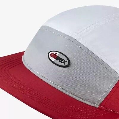 quality design ba658 0394f Nike AIR MAX Sportswear AW84 Adjustable Cap Hat Wolf GreyWhite Red One Size