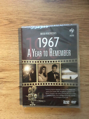 British Pathe News A Year to Remember 1967 NEW DVD