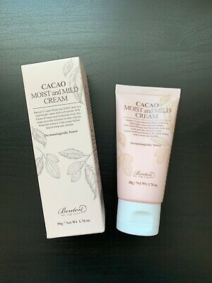 New In Box BENTON Cacao Moist and Mild Cream 50g K-Beauty Cream Sealed