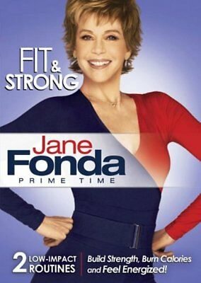 Jane Fonda Prime Time FIT & STRONG DVD New Sealed