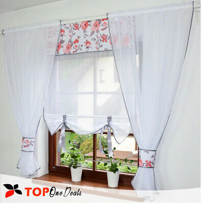 Amazing Ready Made Voile Net Curtains With Voile Panel Green Red Living Room