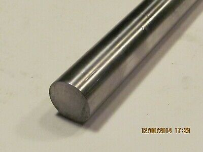 """1/4""""  Stainless Steel Rod  / Bar  Round 304     1 Pc  12"""" Long"""