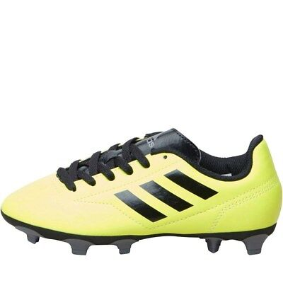 hot sale online 09c0d bd0d7 Adidas Junior Conquisto II FG Football Boots Yellow UK 4.5 EU 37.3 LN31 56  SALEx