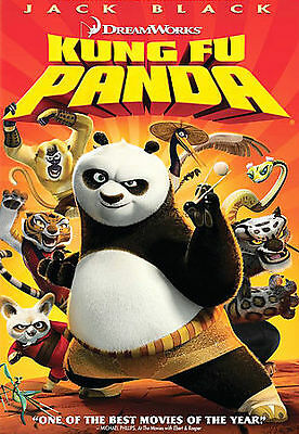 Brand New ~ Factory Sealed ~KUNG FU PANDA ~BLACK,JACK (DVD) Widescreen