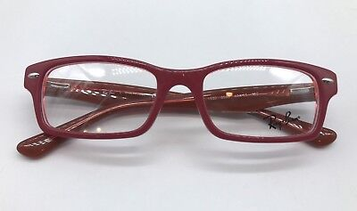 66004de8e9 RAY-BAN RB 1530 Authentic Youth Eyeglasses Frame 48-16-130 Pink 3590 ...