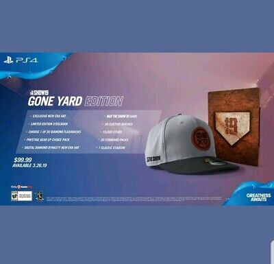 MLB The Show 19 Gone Yard Edition PS4 In Hand