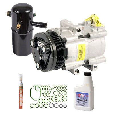 New A//C Compressor Kit Ford Crown Victoria,Grand Marquis,Lincoln Town Car 98-02