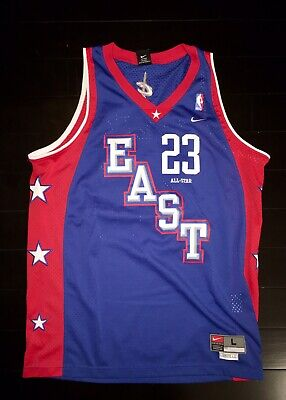 release date eddca 9349a NIKE 2004 LEBRON James East All Star Jersey. Never Worn. Size Large