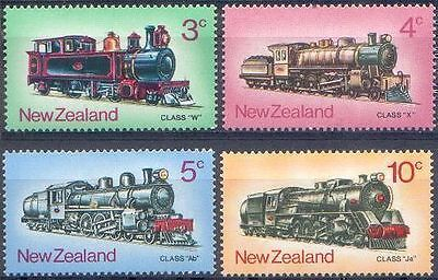 New Zealand 1973 STEAM TRAINS (4) Unhinged Mint SG 1003-6