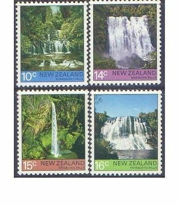 New Zealand 1976 WATERFALLS (4) Unhinged Mint SG1121-4